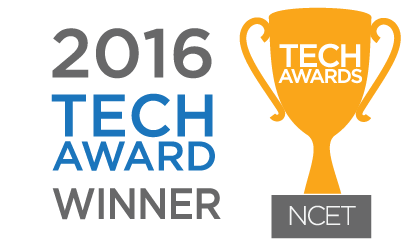 2016 NCET Tech Award Winner